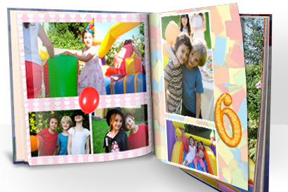 Create a holiday photo album with Vistaprint